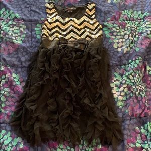 My Michelle Girls size 7 holiday dress